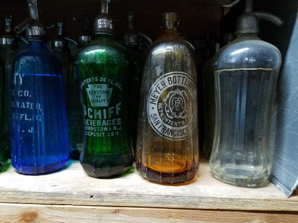 Brooklyn Seltzer Boys Office Bottles