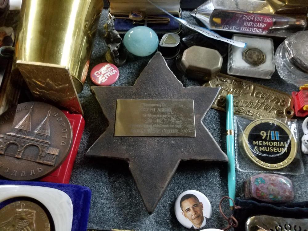 NYC Trash Museum Star of David