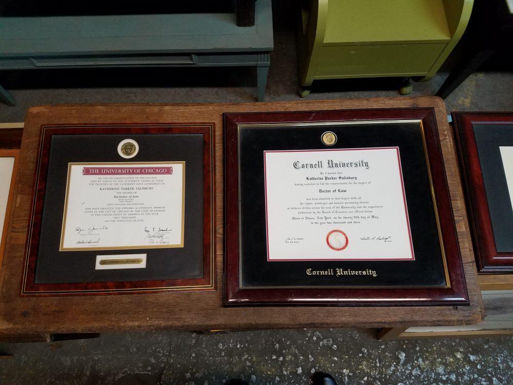 NYC Trash Museum Diplomas