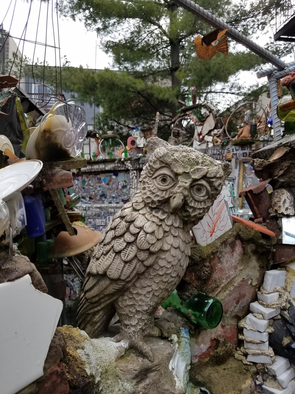 Philadelphia Magic Gardens Owl
