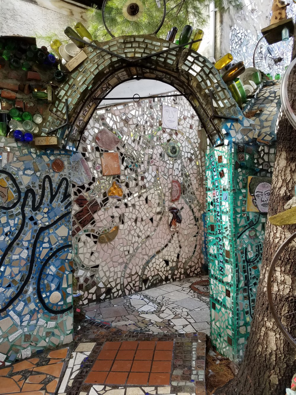 Philadelphia Magic Gardens Arch