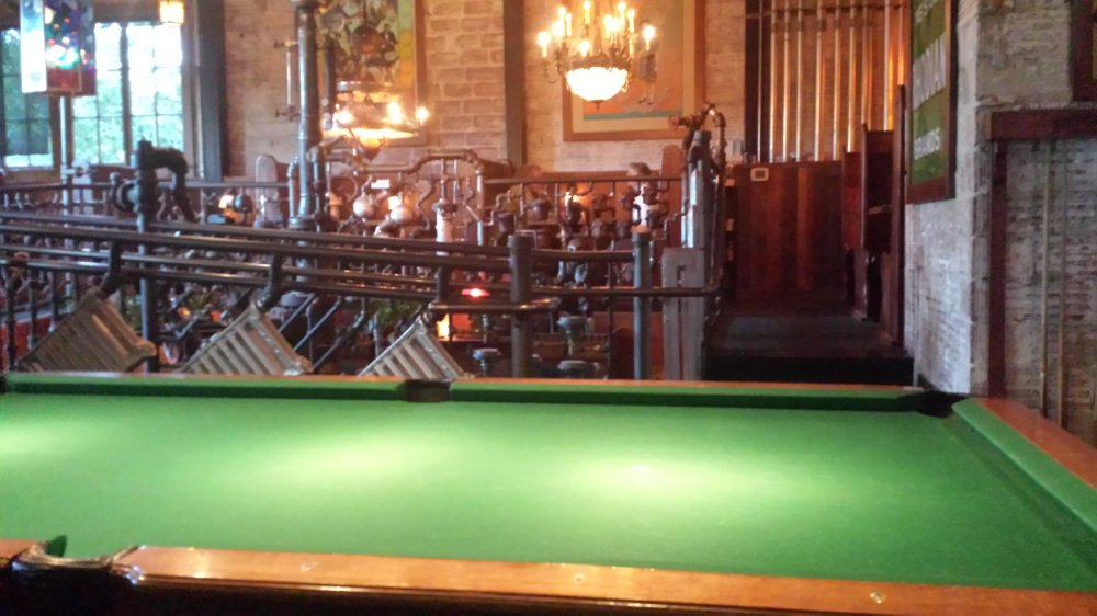 Kennedy School Pool Table and Bar