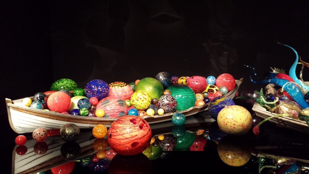 Chihuly Glass Boat