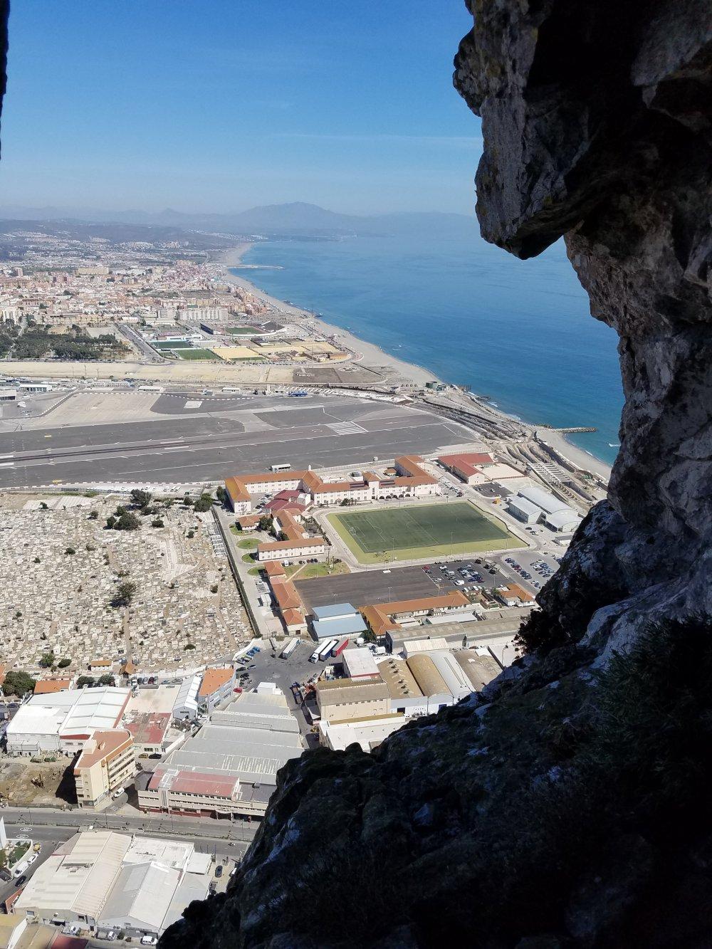 Gibraltar Siege Tunnels View