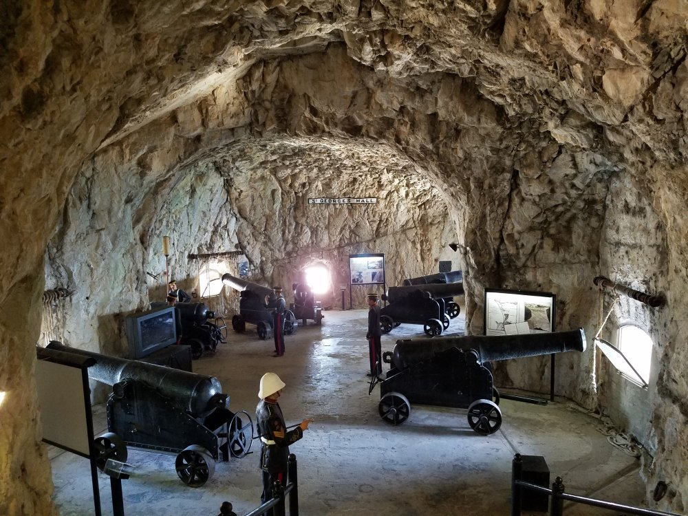 St. George's Hall Gibraltar Great Siege Tunnels