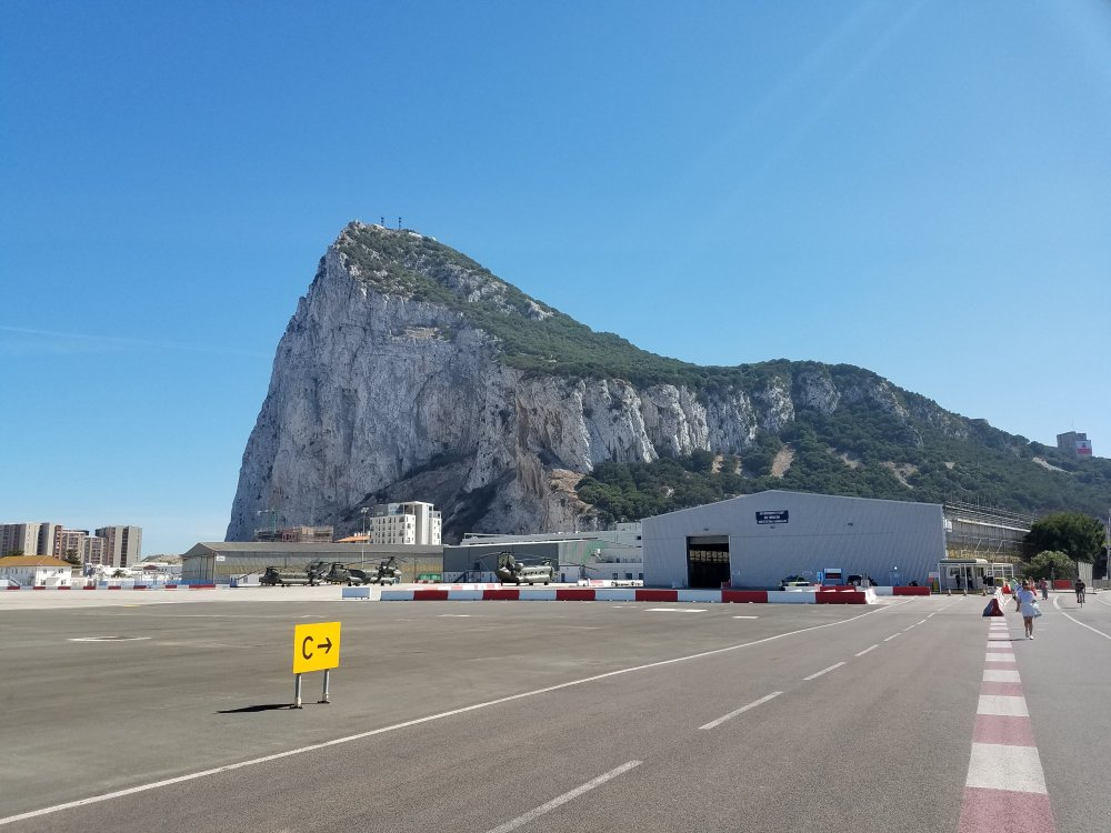 Walking to Gibraltar