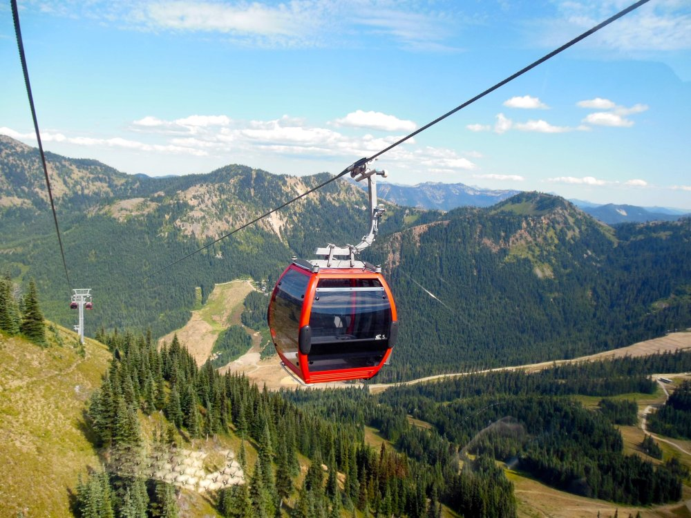 Crystal Mountain Gondola