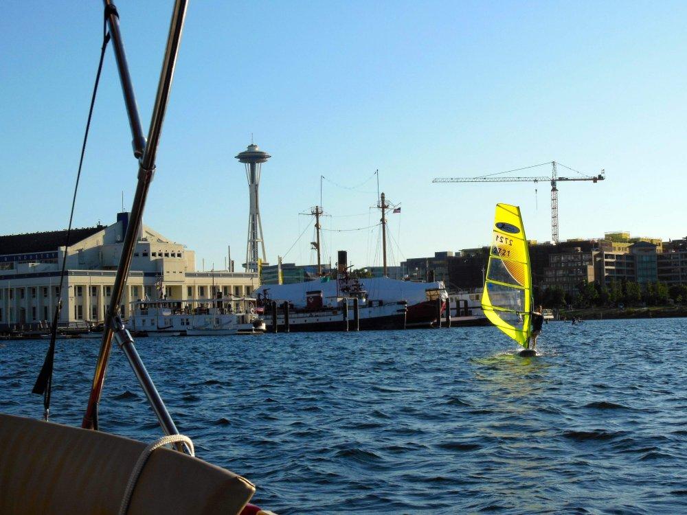 Lake Union Windsurfer