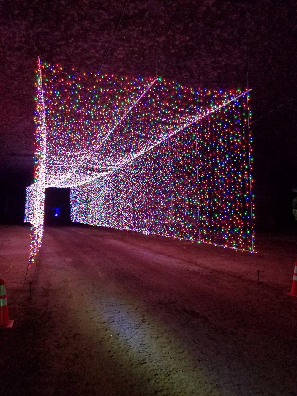 Mega Cavern Christmas Lights.E Biking Inside The Louisville Mega Cavern