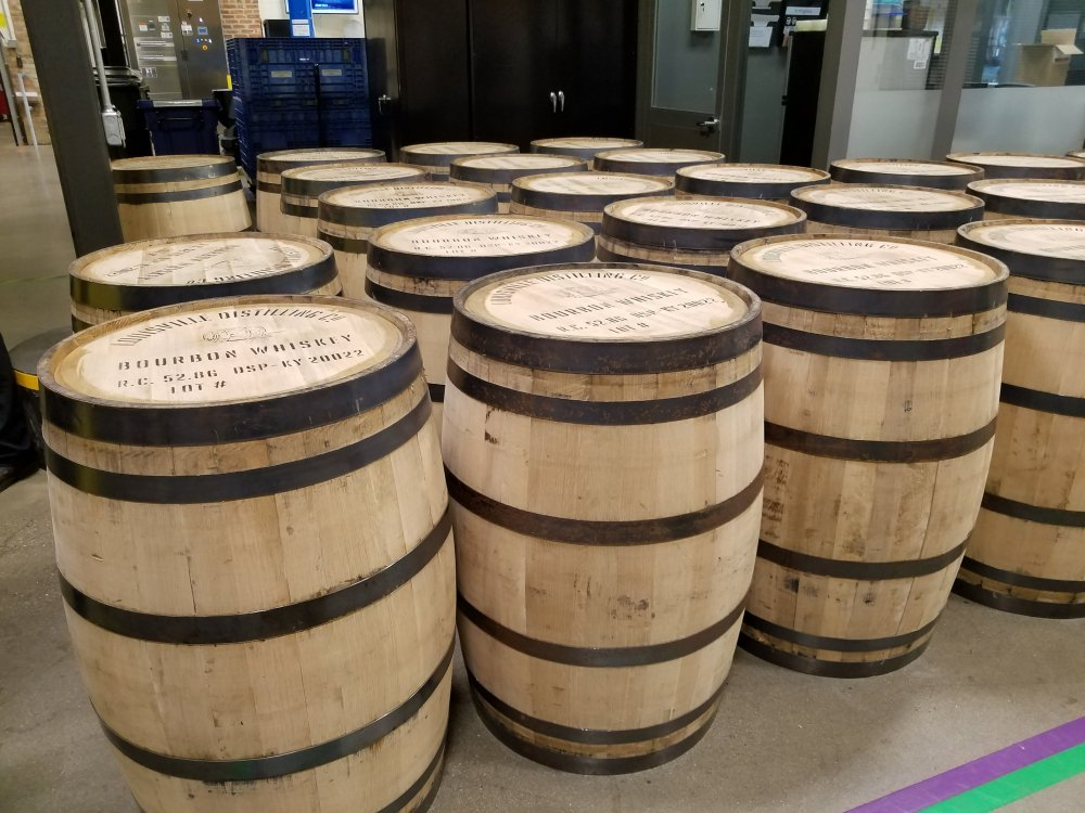Angel's Envy Distillery Bourbon Barrels